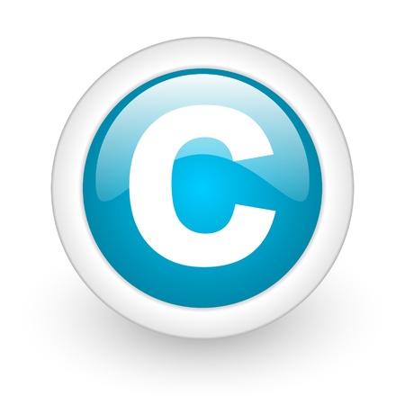 icono de copyright Foto de archivo - 21681275