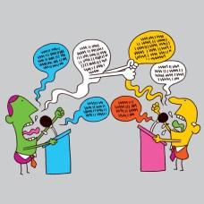 Image result for debating clipart kids