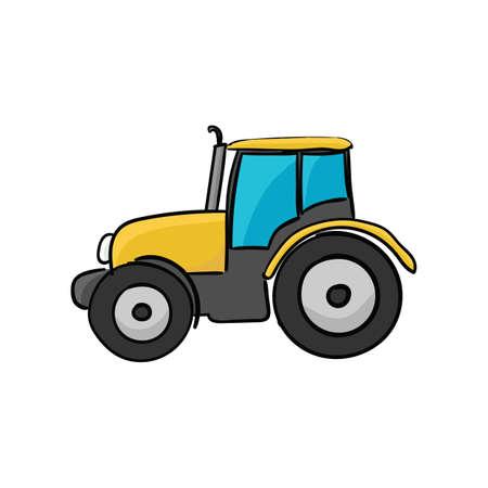 tracteur dessin vecteurs graphiques