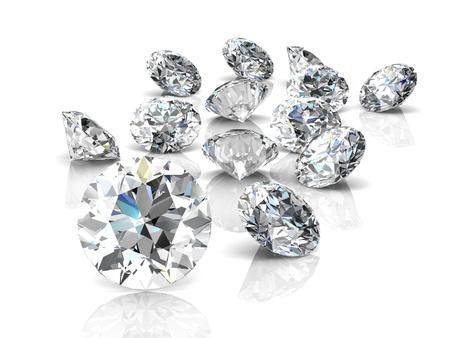 diamond jewel (high resolution 3D image) Stock Photo - 20300990