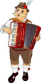 Akkordeon-Symbol Im Cartoon-Stil Auf Weißem Hintergrund. Oktoberfest Symbol  Vektor-Illustration. Lizenzfrei Nutzbare Vektorgrafiken, Clip Arts,  Illustrationen. Image 63194835.