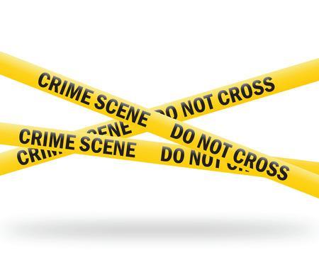 crime: crime scene tape