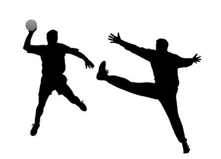 handball stock illustrations cliparts
