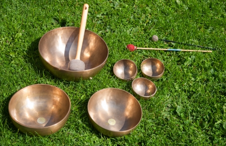 Singing bowls Stock Photo - 15605451