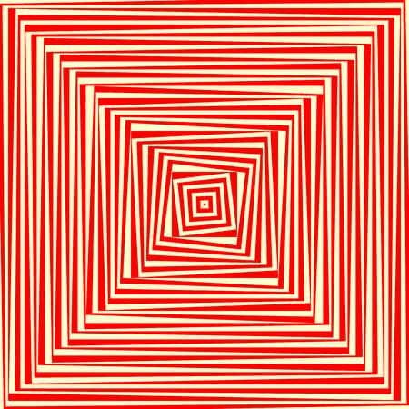 rouge blanc abstrait fond d ecran psychedelique vector illustration