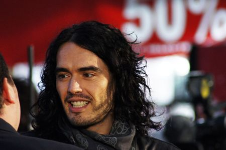 russell brand: LONDON - October 11: Russell Brand At The Despicable Me Premiere October 11, 2010 in Leicester Square London, England.