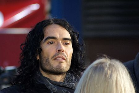 LONDON - October 11: Russell Brand At The Despicable Me Premiere October 11, 2010 in Leicester Square London, England. Stock Photo - 7996966
