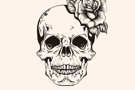 Top Best Skull Tattoos For Men Manly Designs And Ideas Tribal Men s Skull Tattoo And Eye cool drawing designs Vatoz atozdevelopment co cool drawing designs ...