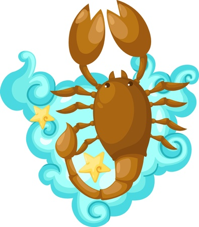 Zodiac signs - scorpio Illustration  Stock Photo - 15657324