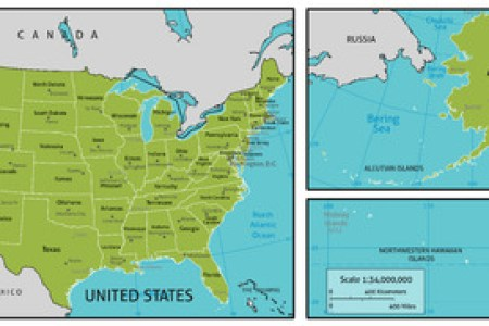 alaska overlaid on us map » Another Maps [Get Maps on HD] | Full HD ...
