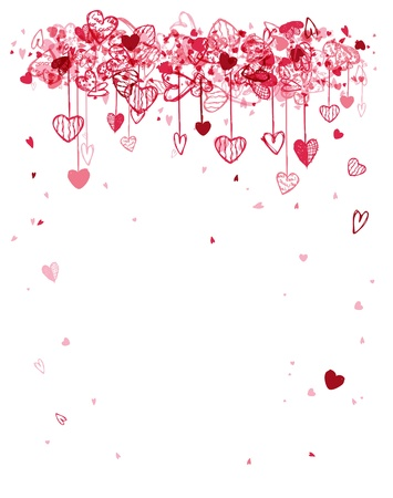 valentine: Valentine frame design with space for your text