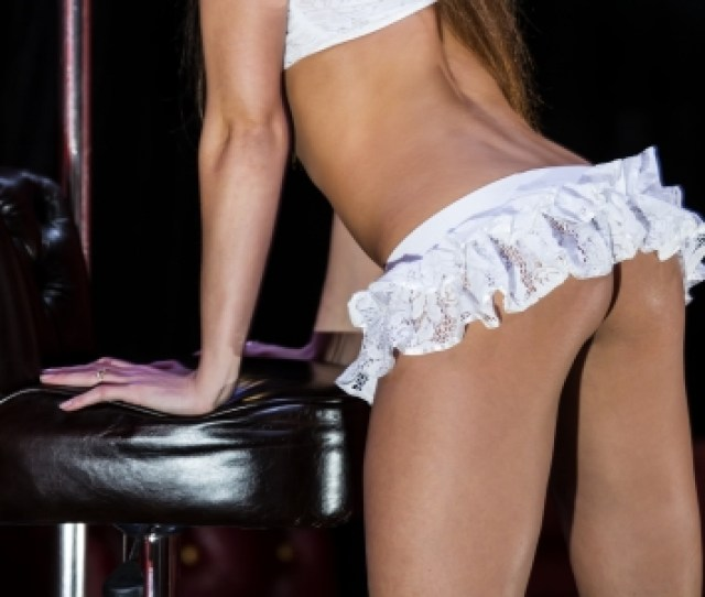 Part Of The Body Of The Girl Dancing Striptease Stock Photo 22958064