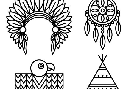 Native American Tribe Symbols Full Hd Maps Locations Another