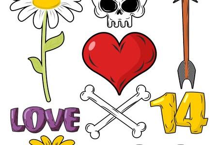 Flower of death symbol flowers near me flowers near me skull and flower symbol of death and symbol of life stock vector skull and flower symbol of death and symbol of life human skull through which flowers mightylinksfo