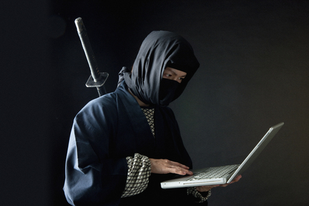 ninja: Using Laptop ninja