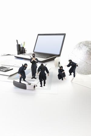 COMPUTER NINJA: Ninja Stock Photo