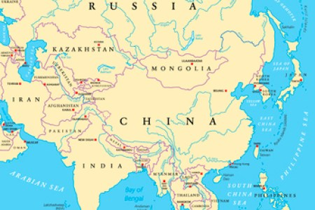 east asia map countries and capitals » Full HD MAPS Locations ...