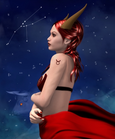 Zodiac series - Taurus Stock Photo - 24477674