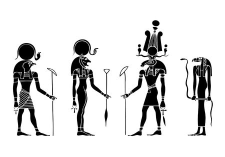 egyptian snake gods: various gods of ancient Egypt