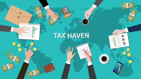 Image result for free to use image of tax havens