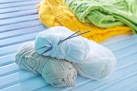 knitting Stock Photo - 33158171