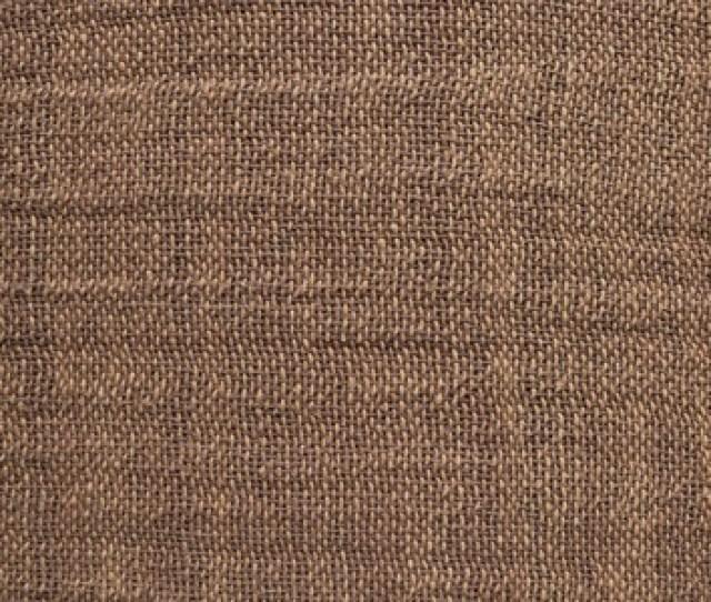 Rough Homemade Matting Handmade Homespun Textiles Natural Brown Shades Without Pattern