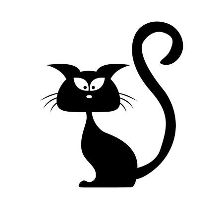 Halloween black and white free black cat clipart halloween clip art images halloween clipart black and white filsize: 34 685 Halloween Cat Stock Illustrations Cliparts And Royalty Free Halloween Cat Vectors