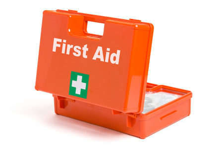 first aid: First Aid Kit Stock Photo