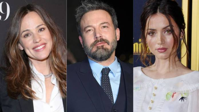 Conflicto entre Jennifer Garner y Ben Affleck por Ana de Armas ...