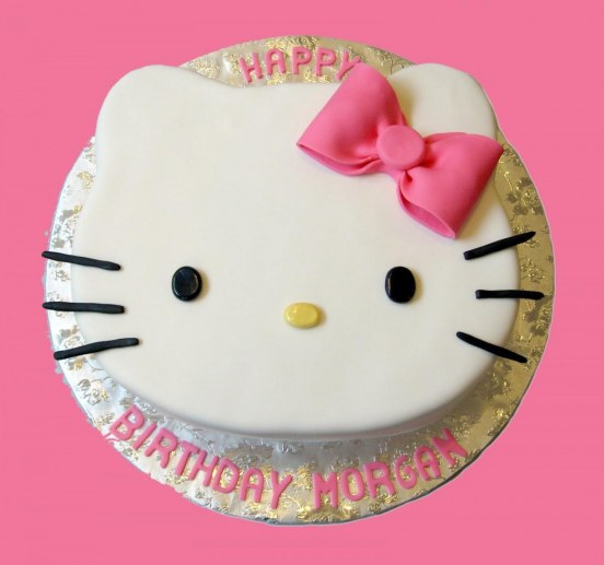 Hello Kitty Cake Photo Cake
