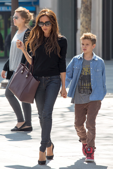 Victoria Beckham Shows Off Posh Prada Shoes As Experts