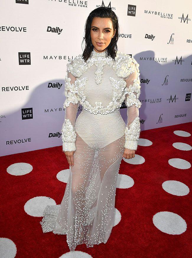 Kim Kardashian rocked a sleek bob until recently