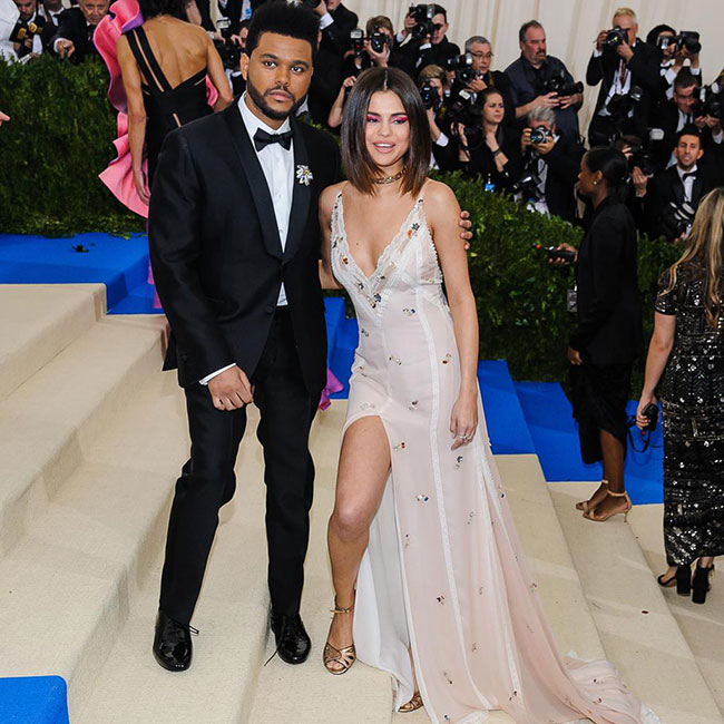 Selena Gomez and The Weeknd at the 2017 Met Gala