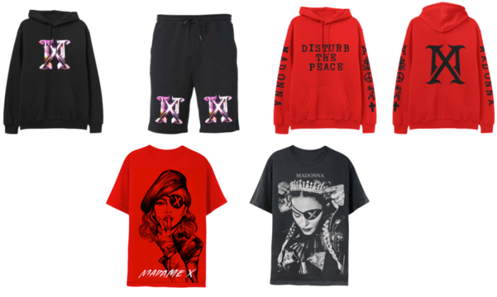 Madonna's new limited-edition merch collection