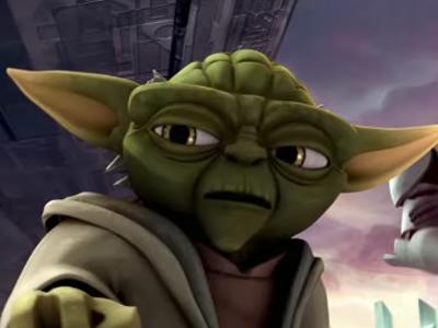 Su tutto lombra del lato oscuro e calata. Cominciata la guerra dei cloni e. (Yoda)