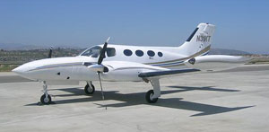 Cessna 421B for private flights (VIP) from the El Catey Samaná airport