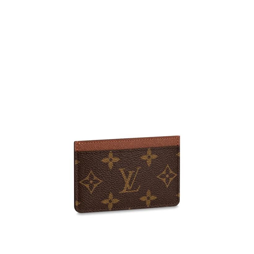 ff654b7e1bc8 Card Holder Monogram Canvas Small Leather Goods Louis Vuitton