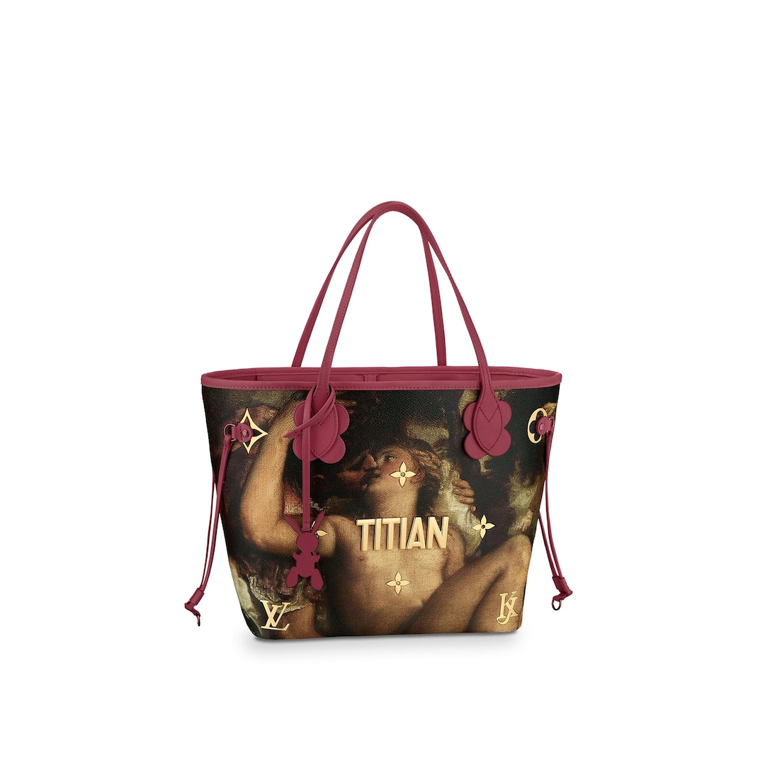 Neverfull MM  in WOMEN's MASTERS LV X KOONS  collections by Louis Vuitton