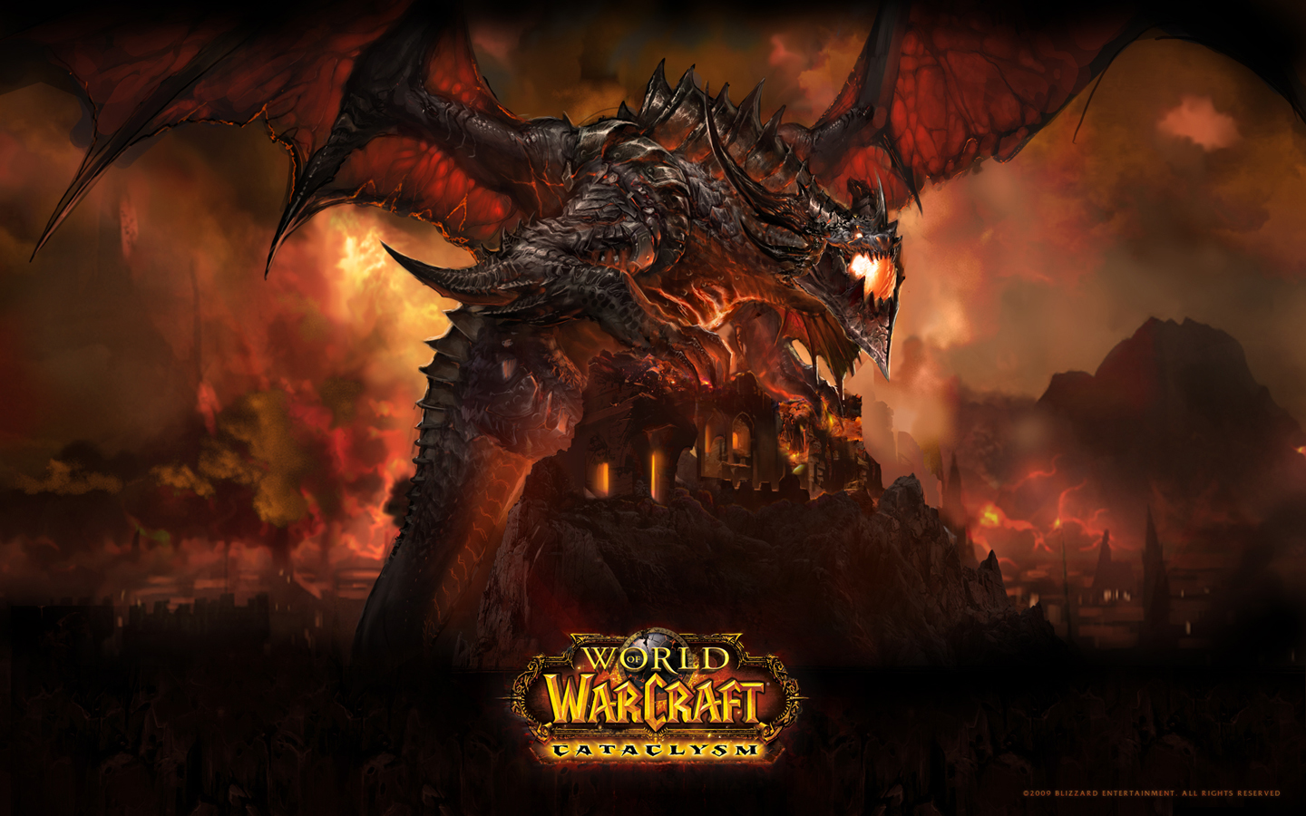 Deathwing - Possibly the most awesome looking dragon ever