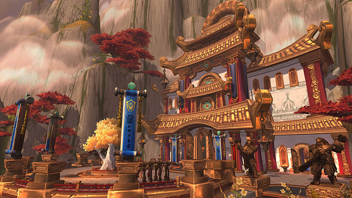 The Vale of Eternal Blossoms in Mists of Pandaria
