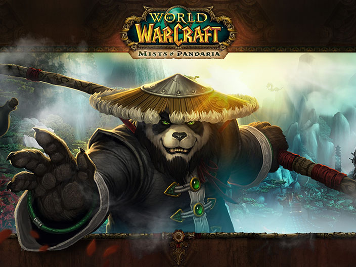 A wallpaper for World of Warcraft: Mists of Pandaria