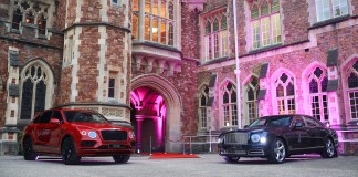 BENTLEY BRISTOL SUPPORTS CLIFTON COLLEGE PERCIVAL DINNER