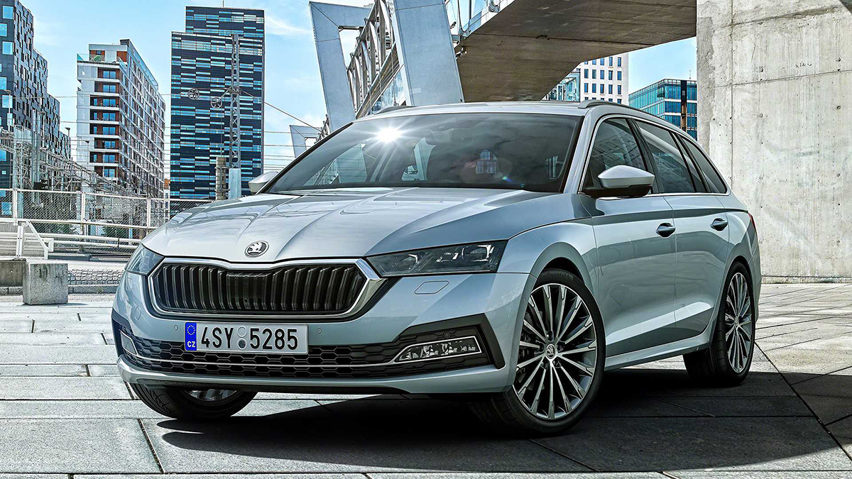 All New Skoda Octavia Delights With An Emotive Design And