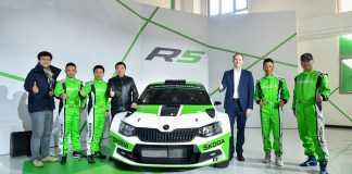 skoda-in-the-china-rally-championship