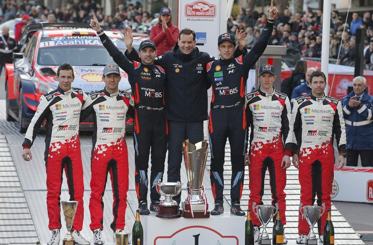 TOYOTA - Monte Carlo Rally - WRC