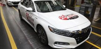 Honda Reaches 20 Million Auto Production Milestone in Ohio