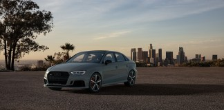 Audi RS 3 Nardo edition- turning grey skies blue
