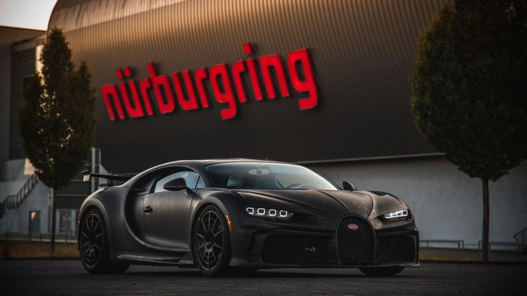 Bugatti chiron pur sport nurburgring