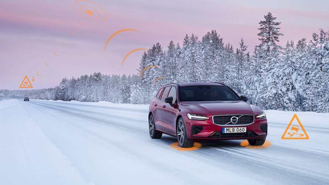 Volvo Cars helps warn U.S. drivers and municipalities of slippery roads and hazards