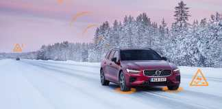Volvo Cars helps warn U.S. drivers and municipalities of slippery roads and hazards